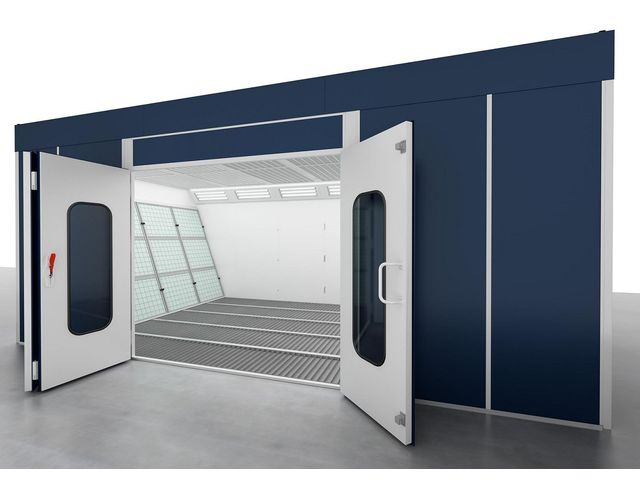 Cabine De Peinture Cabine De Futura France Airgone S A S Informations Et Documentations Equip Garage