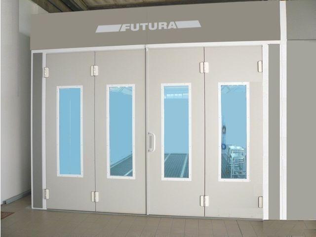 cabine de peinture cabine de luxe futura de futura france airgone s a s informations et. Black Bedroom Furniture Sets. Home Design Ideas
