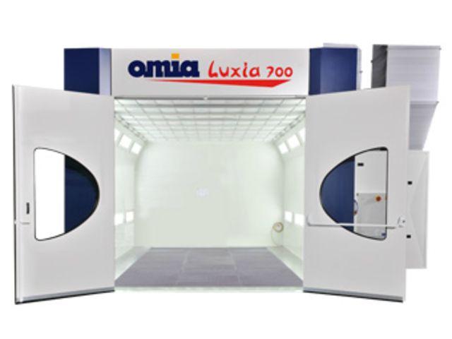 cabine de peinture vl et vul luxia de omia division automobile informations et. Black Bedroom Furniture Sets. Home Design Ideas