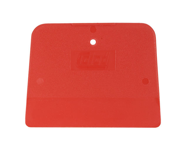 Cales en plastique - rouge 120 x 90 mm (rigide) / 5 pcs