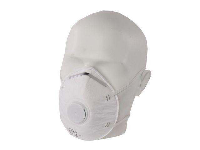 masque anti poussiere valve