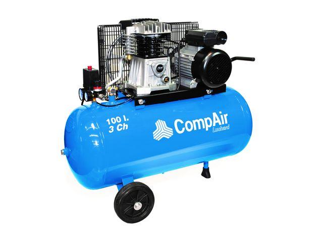 Compresseur 100l 10bar 3cv de sas consogarage com informations et documentations equip - Compresseur 100l 3cv ...