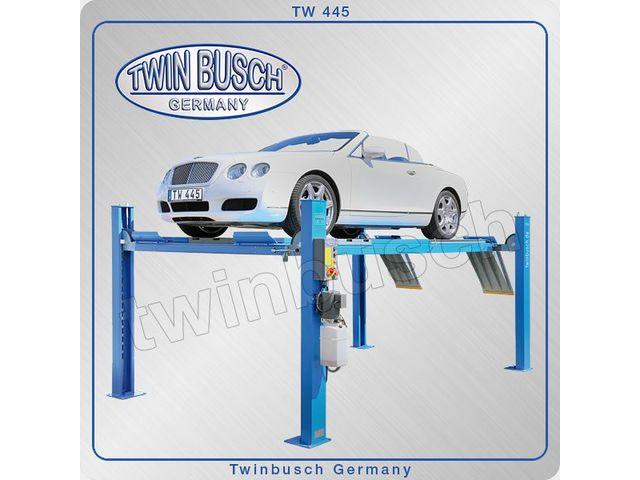Pont l vateur 4 colonnes 4 5 t de pro equipement twin for Prix d un bip de garage