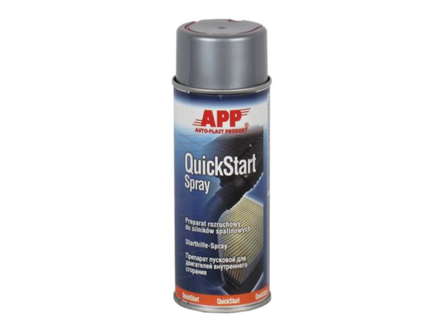 Spray bombe d'aide au démarrage moteur - APP Quick Start Spray
