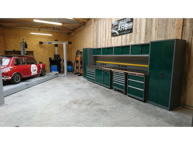 agencement d 39 atelier et garage gamme meuble pro trm garage pro de trm garage informations et. Black Bedroom Furniture Sets. Home Design Ideas