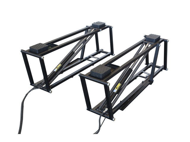 Syst me de levage mobile par rampe twin split de rr for Materiel professionnel pour garage automobile