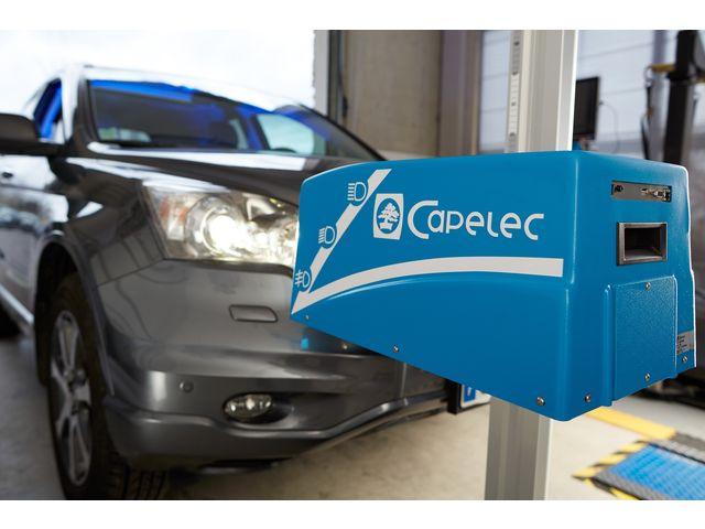 R glophare lectronique cam ra ccd s rie cap2600 de for Garage auto electronique