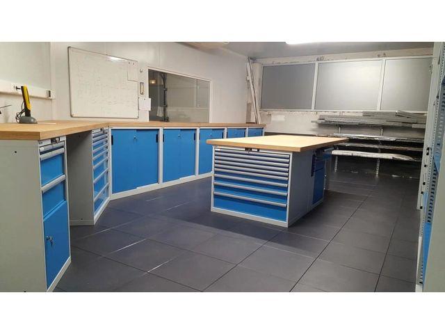agencement d 39 atelier et garage bleu ciel trm garage pro de trm garage informations et. Black Bedroom Furniture Sets. Home Design Ideas