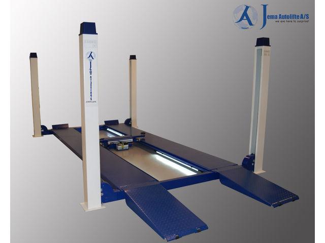 Pont 4 colonnes capacit 5500kg ja5500f de jema for Location garage avec pont elevateur