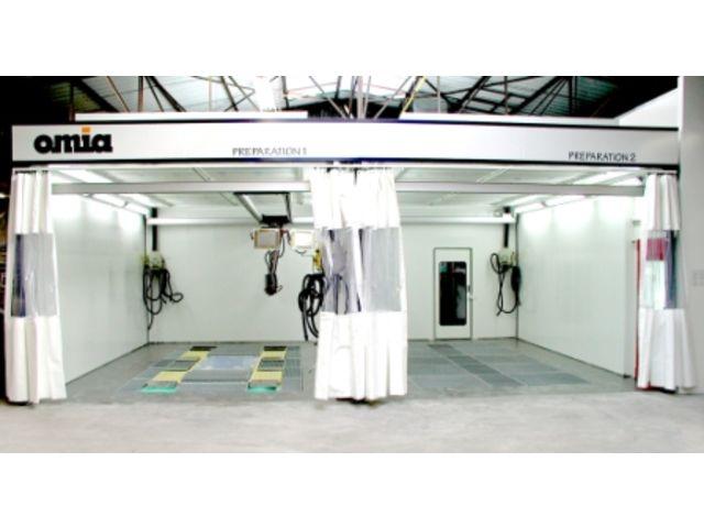 centrale d 39 aspiration pon age pour atelier de carrosserie de omia division automobile. Black Bedroom Furniture Sets. Home Design Ideas