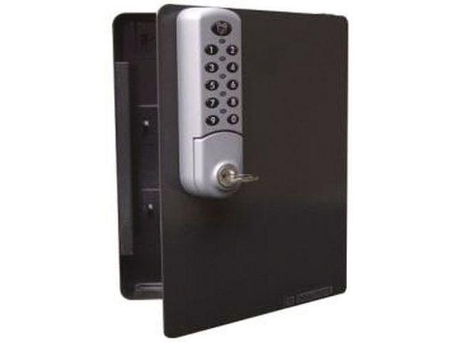 armoire cl s avec serrure lectronique de manutan informations et documentations equip garage. Black Bedroom Furniture Sets. Home Design Ideas
