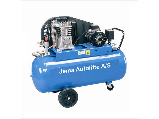 Compresseur 100l en 220 volt ja1001co de jema for Compresseur garage automobile