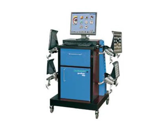 banc de g om trie hofmann geoliner 680 de techno automotive equipment informations et. Black Bedroom Furniture Sets. Home Design Ideas