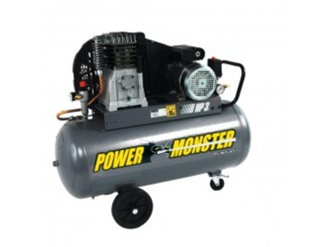 Compresseurs cuve de 100 litres compresseur 100l 3hp for Compresseur garage automobile