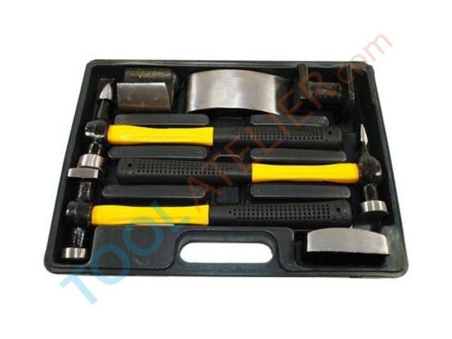 mallette de d bosselage de 7 outils pour carrossier de toolatelier informations et. Black Bedroom Furniture Sets. Home Design Ideas