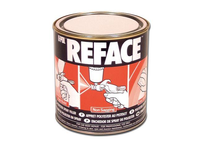 reface appr t polyester au pistolet bidon 1l blanc de all4auto informations et. Black Bedroom Furniture Sets. Home Design Ideas
