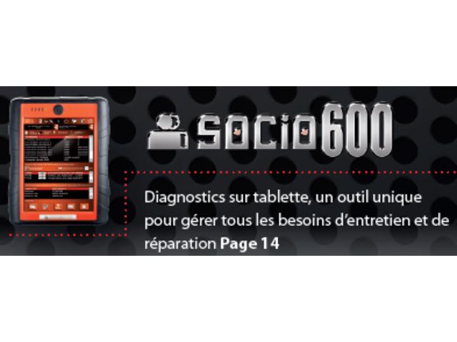 Outil de diagnostic socio 600 promotion en juillet for Diagnostic garage gratuit