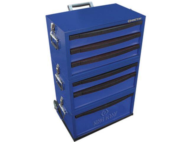 servante modulable technicien sur roues 6 tiroirs 874516ba de king tony france. Black Bedroom Furniture Sets. Home Design Ideas