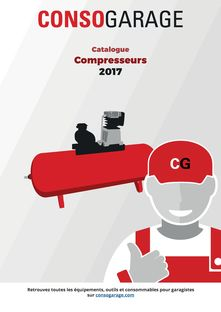 CONSOGARAGE - Catalogue compresseurs 2017