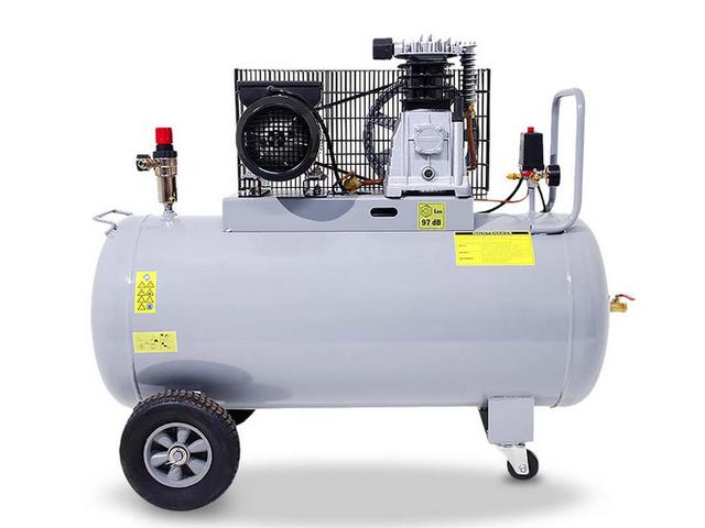 Compresseur piston 200l 220v de consogarage com for Compresseur garage automobile