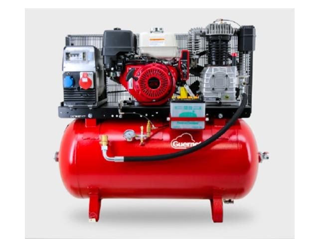 Compresseur essence sur r servoir s rie air bat de for Compresseur garage automobile