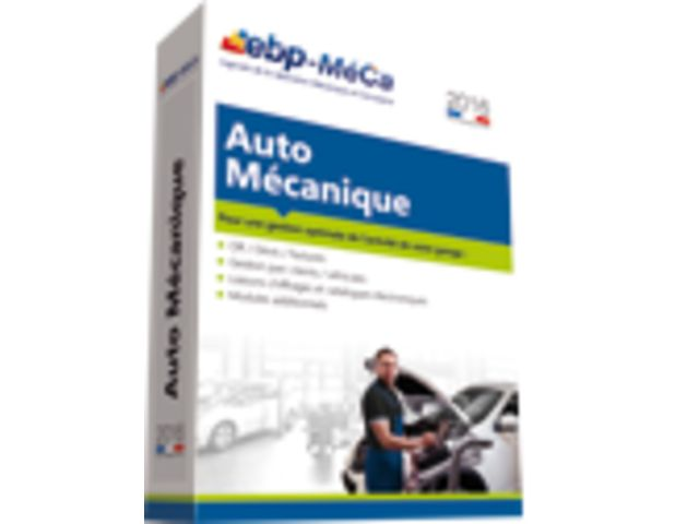 Logiciel de gestion auto m canique de ebp meca for Logiciel garage auto entrepreneur