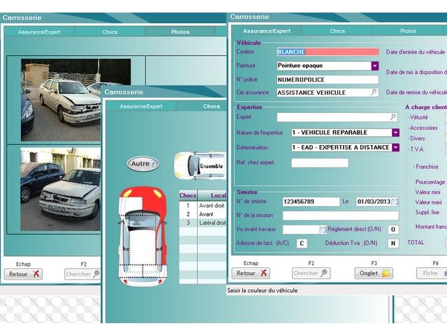logiciel pour carrossiers gta pro carrosserie de gta pro informations et documentations. Black Bedroom Furniture Sets. Home Design Ideas