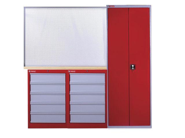 am nagement d 39 atelier modulaire 120 cm mw tools mod12lbk de torros informations et. Black Bedroom Furniture Sets. Home Design Ideas