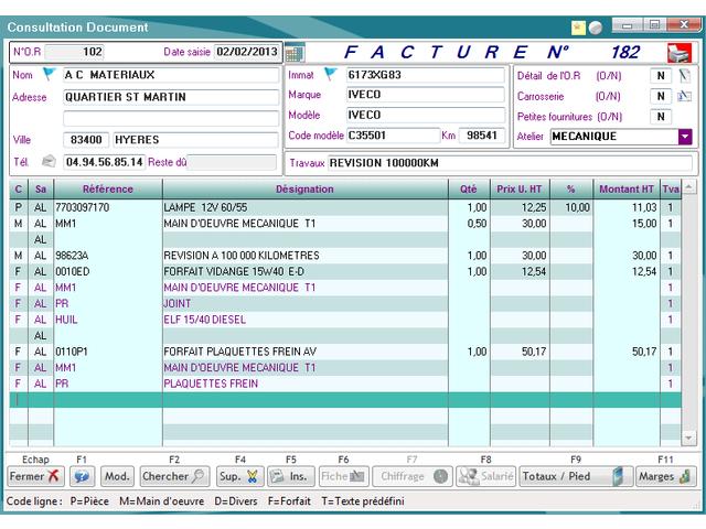 logiciel garage pour petites entreprises de r paration