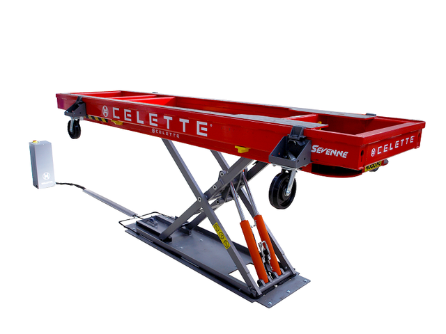 Banc de redressage x trac de celette france s a s - Table de redressage carrosserie ...