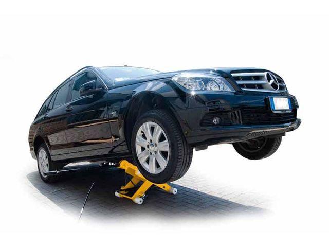 Cric de levage double effet 2500 kg slift de rr for Materiel professionnel pour garage automobile