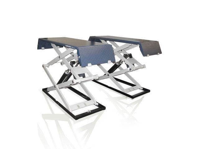 pont l vateur doubles ciseaux 3 5 t plat 105 mm purge automatique de velyen licensed. Black Bedroom Furniture Sets. Home Design Ideas