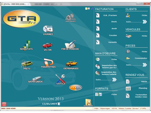 Logiciel carrosserie offres et services de logiciel for Logiciel facturation garage