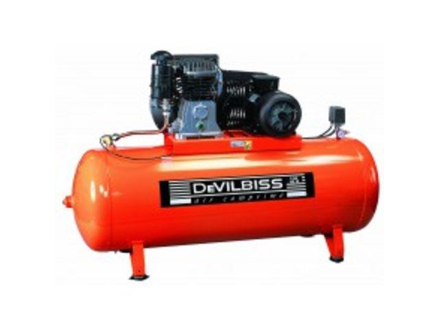 Compresseur 500 litres 7 5cv devilbiss de gobillot for Compresseur garage automobile