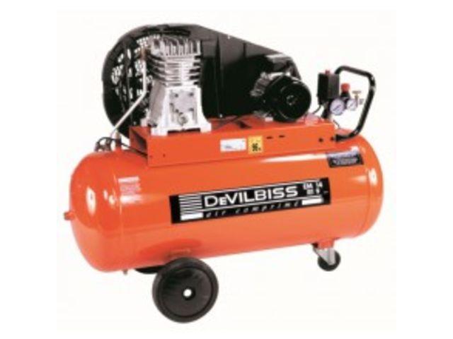 Compresseur 100 litres 2cv devilbiss de gobillot for Compresseur garage automobile