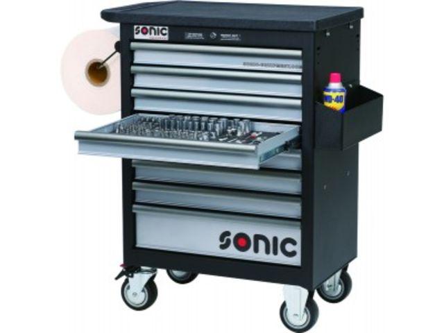 servante d 39 atelier 354 outils de sonic equipment. Black Bedroom Furniture Sets. Home Design Ideas