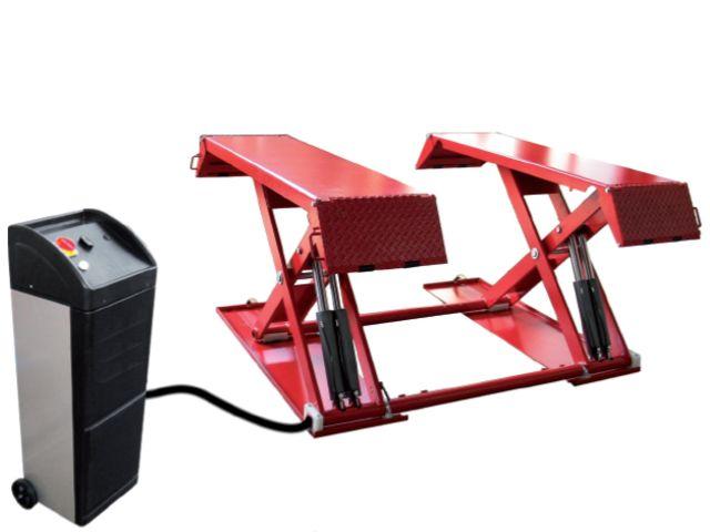 Pont ciseaux lectro hydraulique basse lev e iko263 de for Assurance pour garage automobile