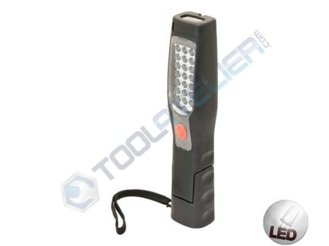 Lampe torche magn tique 180 led de garage tools for Lampe garage led