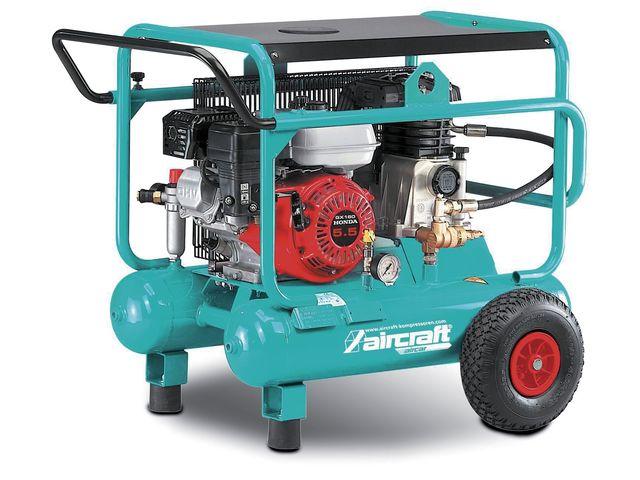 Compresseur de construction mobile moteur essence 14 bars for Compresseur garage automobile