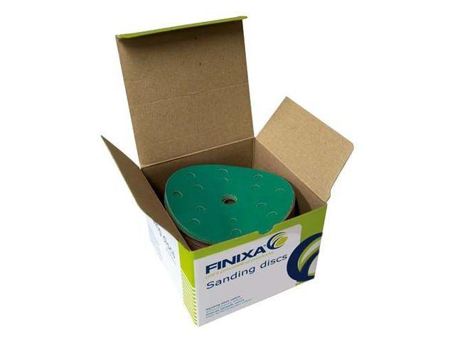 finixa disques abrasifs vert papier 150mm 15 trous p40 2000 de all4auto informations et. Black Bedroom Furniture Sets. Home Design Ideas