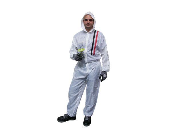 Combinaison De Peinture Polyester Blanc Finixa Taille L