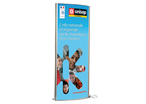 Totem lumineux double-face ft poster 1700 x 600 mm