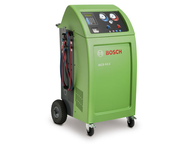 Station de climatisation acs 611 de bosch france for Materiel professionnel pour garage automobile
