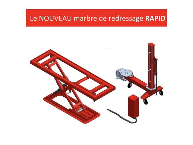 Rapid bench astra mini marbre de redressage tirage - Table de redressage carrosserie ...