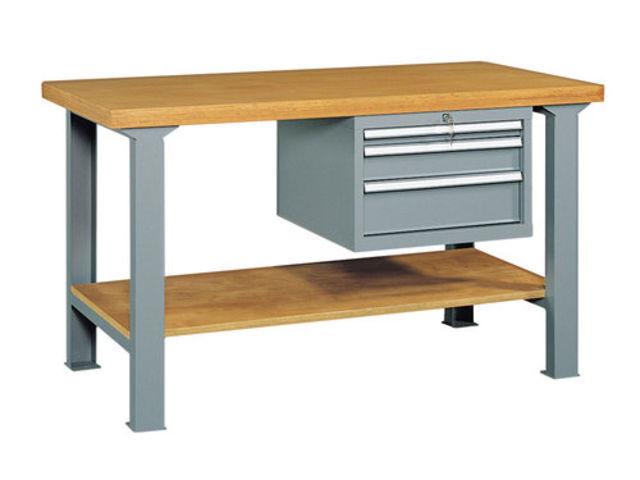 Etabli professionnel quip avec 3 tiroirs coulissants et for Assurance garage professionnel